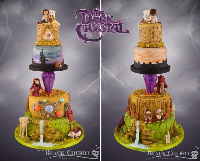 Dark Crystal Cake