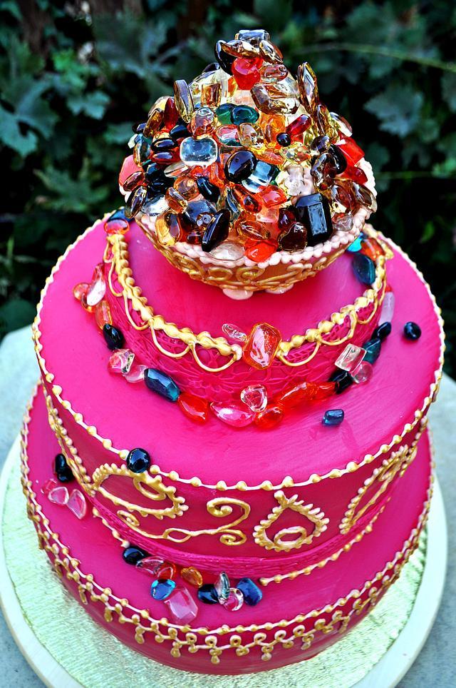 Bollywood Cake ;)