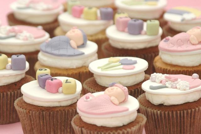 Everything Nice Baby Shower Cupcakes..