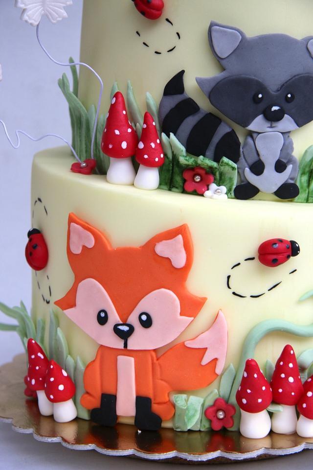 Tupsy turvy cake