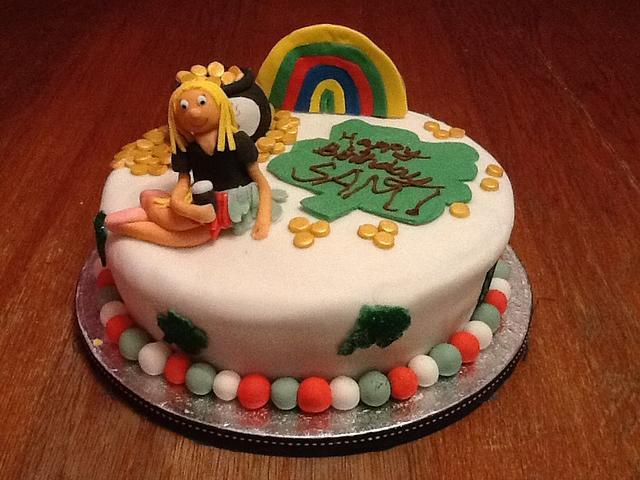 Super Irish Theme Birthday Cake Cake By Cupncakesbyivy Cakesdecor Birthday Cards Printable Riciscafe Filternl