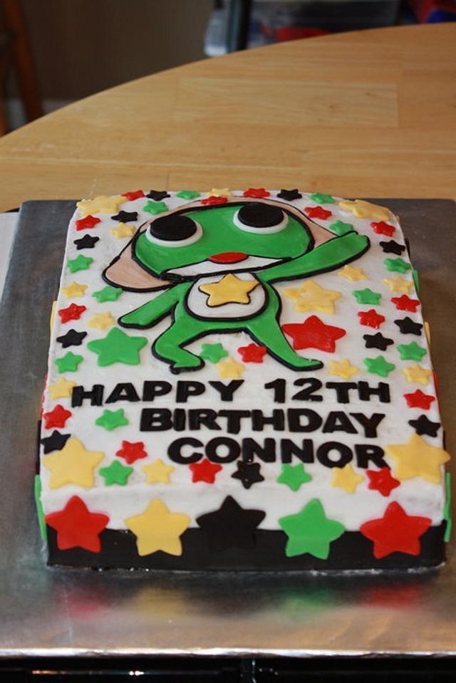 SGT. Frog Cake