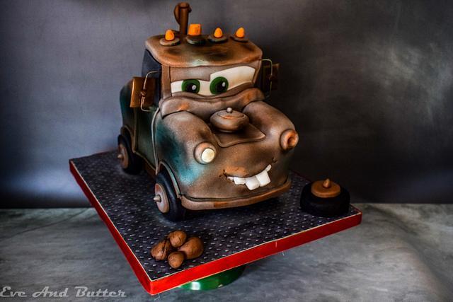Tow Mater 3D cake
