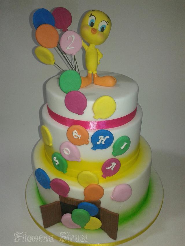 Tweety cake
