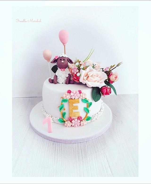 Flowers cake 🌷⚘🌹