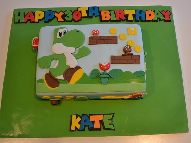 Awe Inspiring Mario And Luigi Nintendo Birthday Cake Cake By Rachel Cakesdecor Personalised Birthday Cards Veneteletsinfo