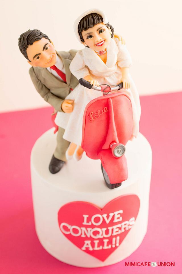 ROMAN HOLIDAY 2 - Be My Valentine Cake Collaboration