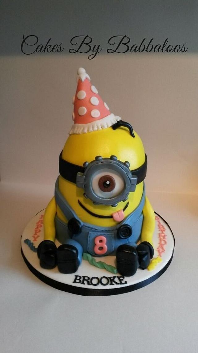 Miniontastic party cake!