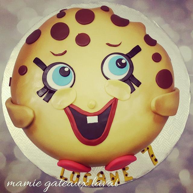 shopkins kookie cake