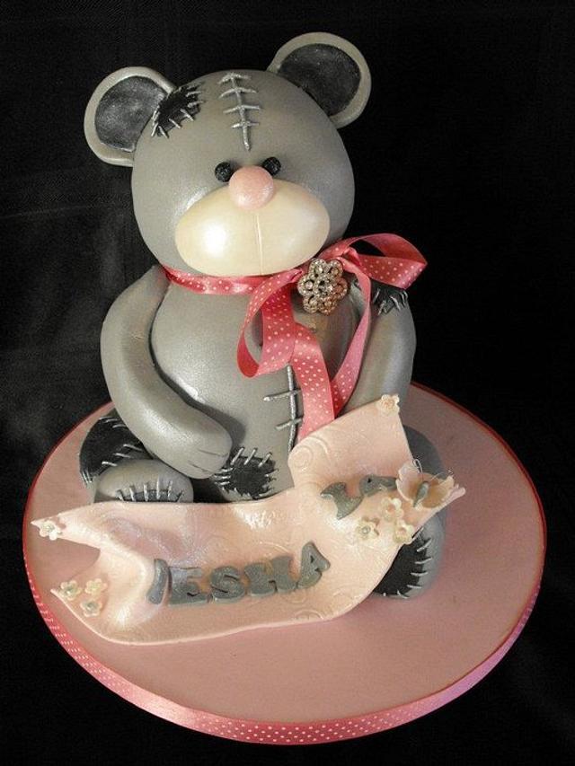 3d me to you bear cake