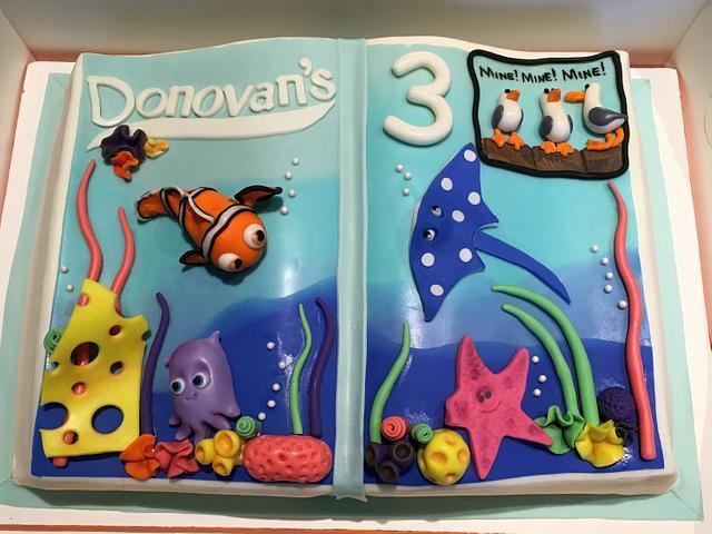 Under the Sea Storybook Cake
