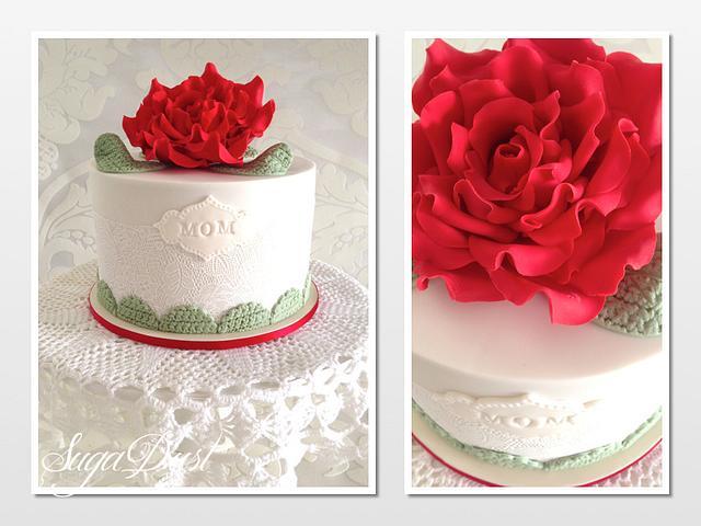 Lace & Crochet Cake