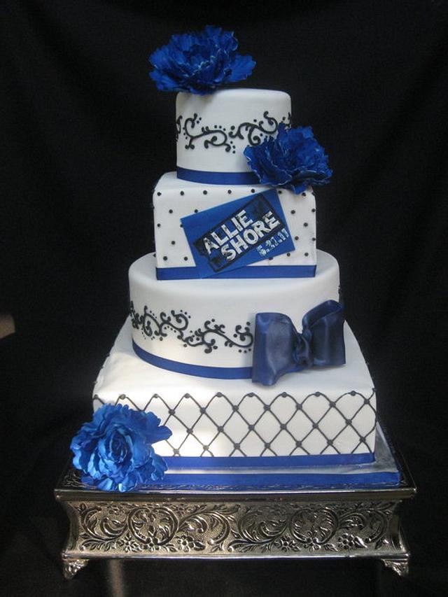 Sharp Dressed Cake!