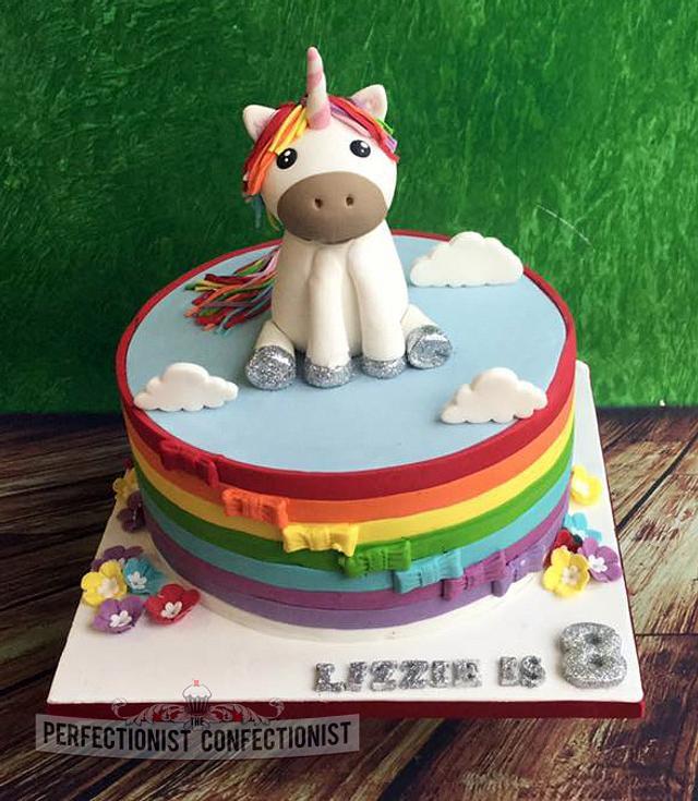 Lizzie - Unicorn Birthday Cake