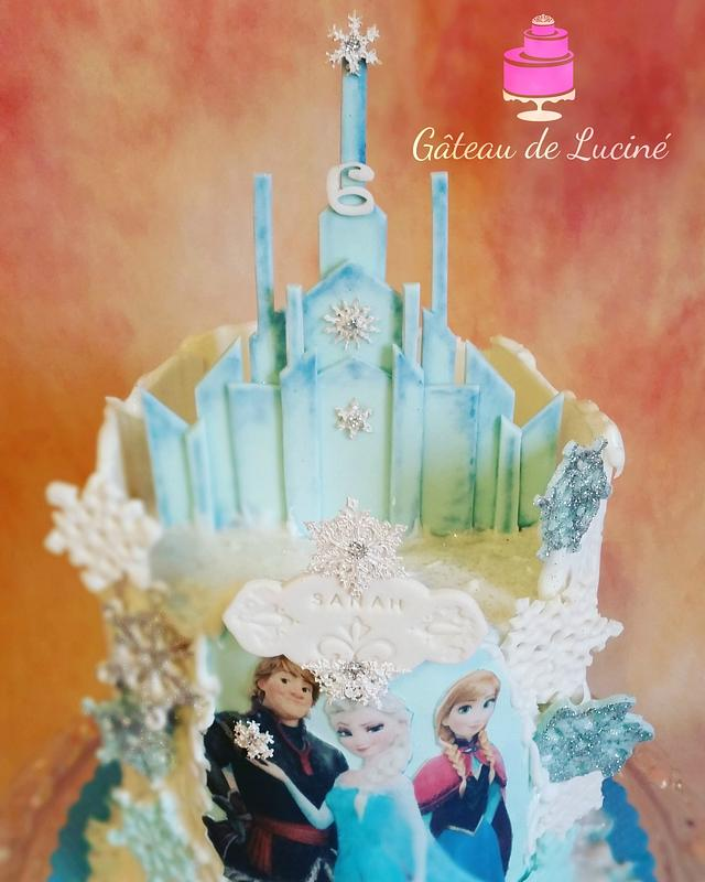 New version Frozen cake