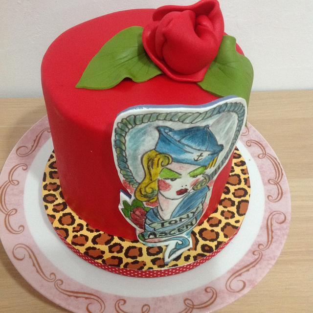 Pin up cake para Ascen