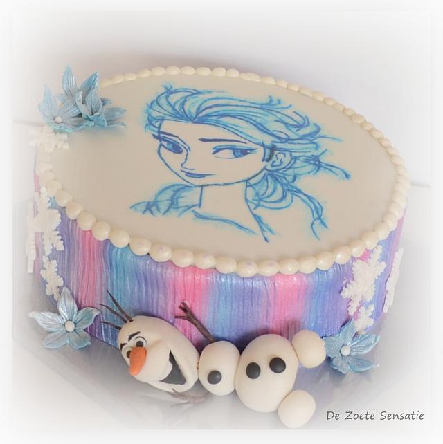 Hand Painted Elsa