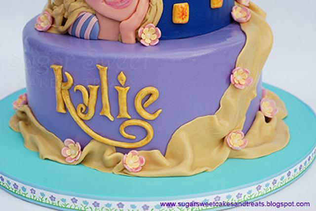 Tangled Cake with Pascal