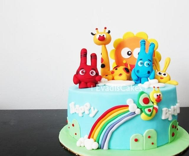 Prime Babytv Characters Birthday Cake Cake By Evadiscakes Cakesdecor Funny Birthday Cards Online Hetedamsfinfo