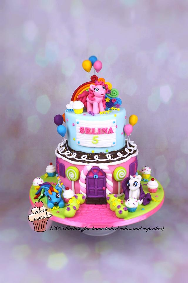 Incredible My Little Pony Cake Cake By Marias Cakesdecor Funny Birthday Cards Online Alyptdamsfinfo