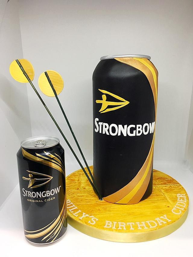 Strongbow cake