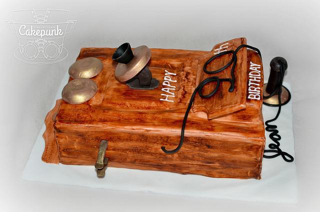 Antique Phone Cake