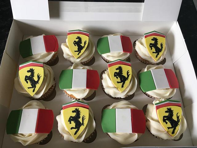 Italian stallion cupcakes