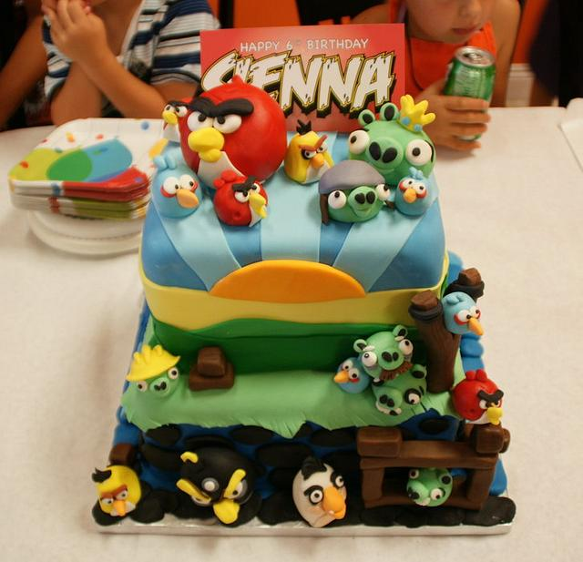 Angry Birds by Mili