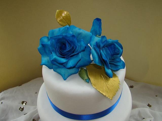 Simple Blue roses