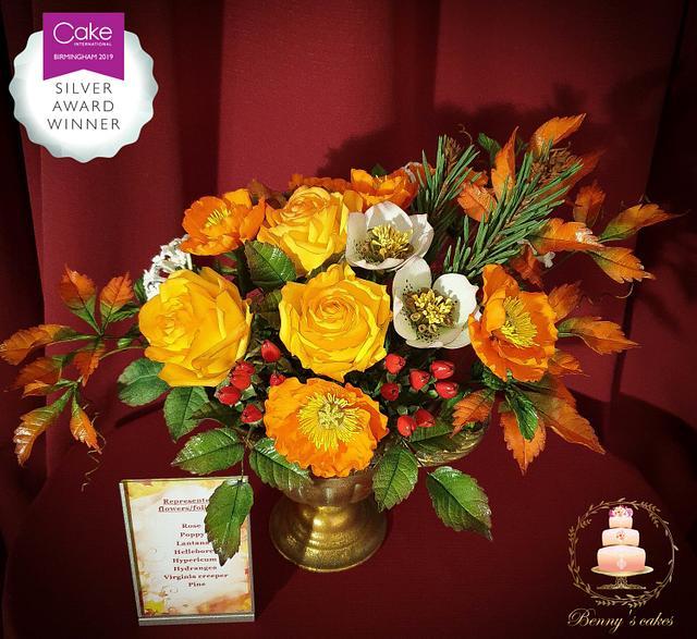 My Autumn flower bouquet
