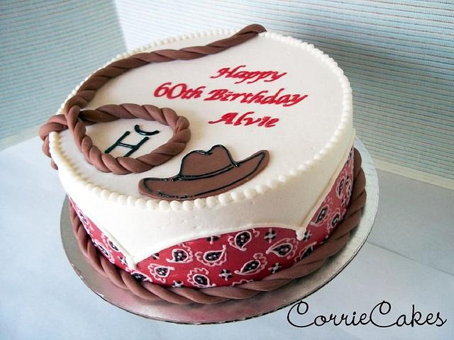 Awe Inspiring Country Western Birthday Cake By Corrie Cakesdecor Funny Birthday Cards Online Aboleapandamsfinfo