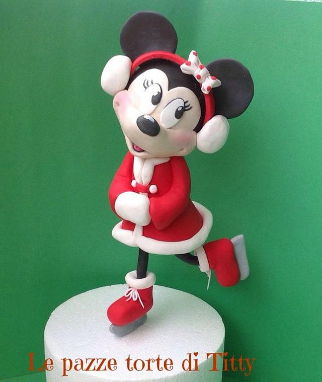 Minnie in the christmas