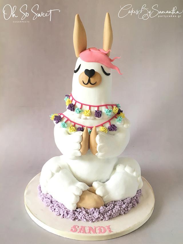 Llamaste! Lana the Llama Cake