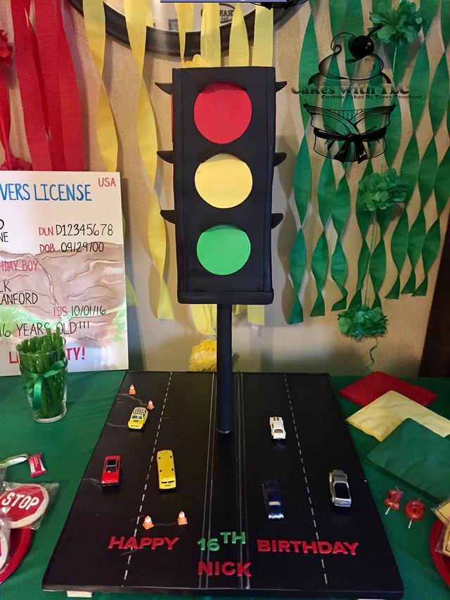Traffic Light 16th Birthday