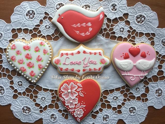 Valentine's Day Cookies/Biscuits