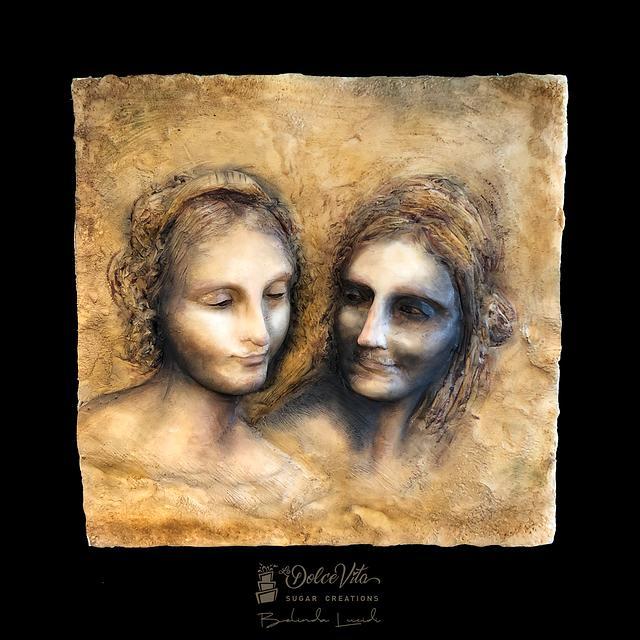 """...inspired by """"Il Cartone di Sant'Anna"""" (Leonardo Da Vinci)"""
