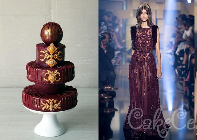 Fashion inspiration by Ellie Saab dress