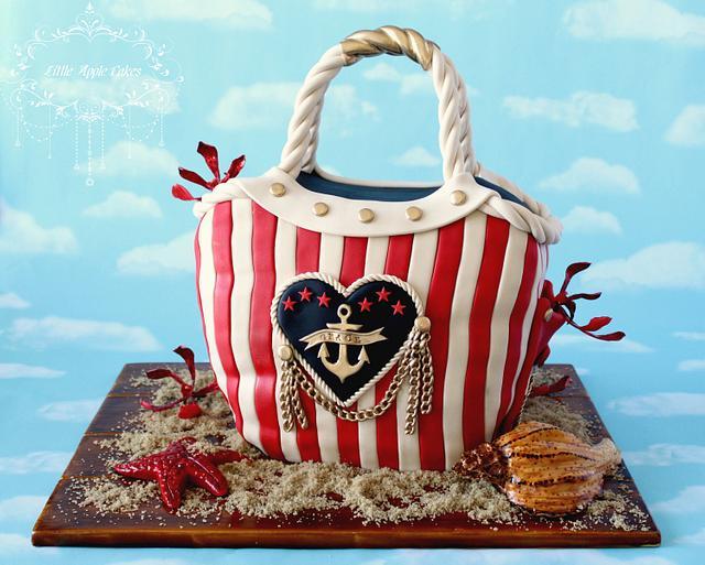 Princess Grace of Monaco ~ nautical cake