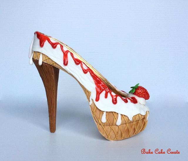 The '99' ice-cream shoe