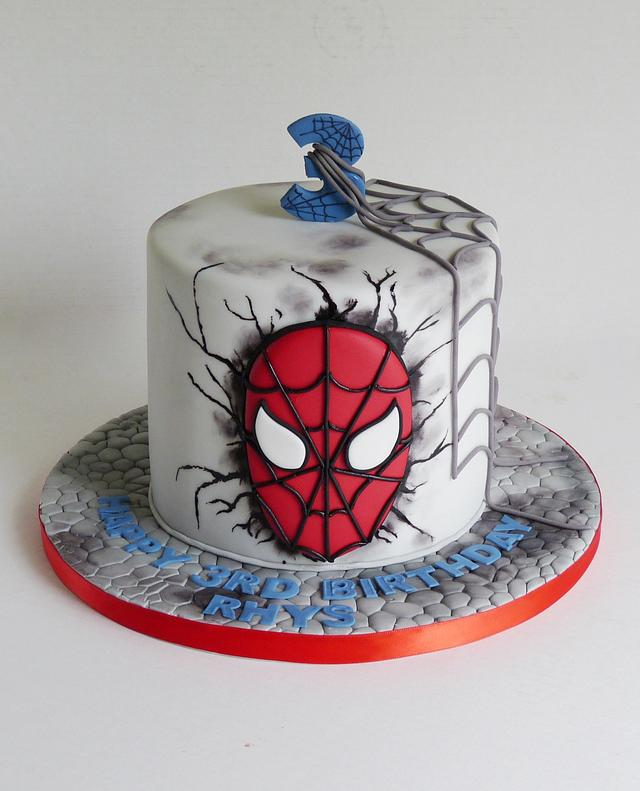 Spiderman Spider Man Cake By Angel Cake Design Cakesdecor