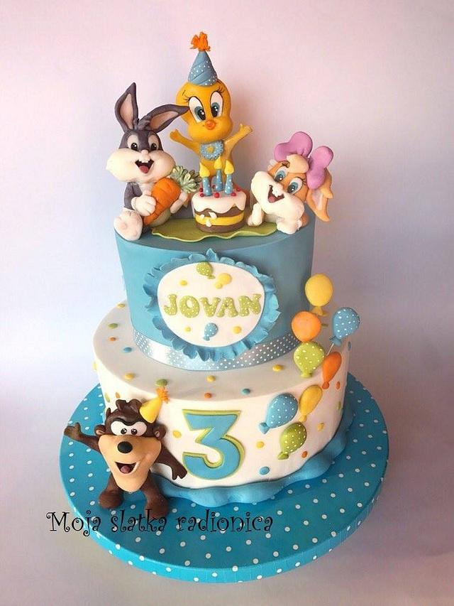 Disney baby cake