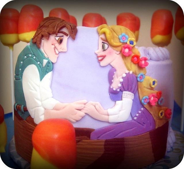 Tangled Boat Scene Dessert-scape