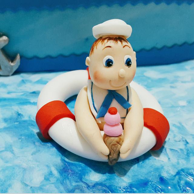 Lil Sailor with Ice-Cream
