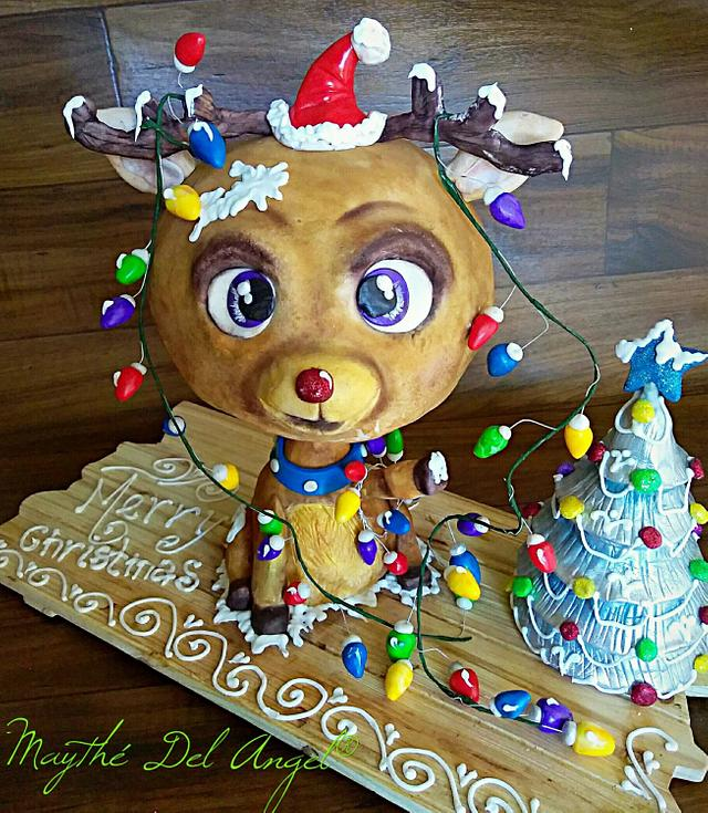 Little Rendeer wainting for Christmas