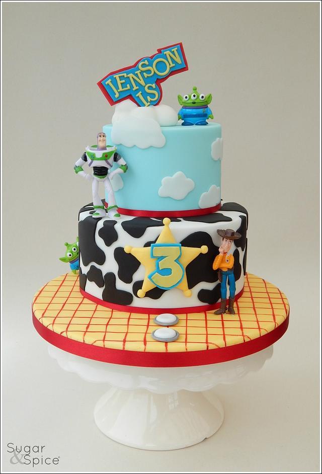 Jenson's Toy Story cake ...
