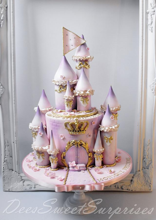 Fairytale Princess Castle cake