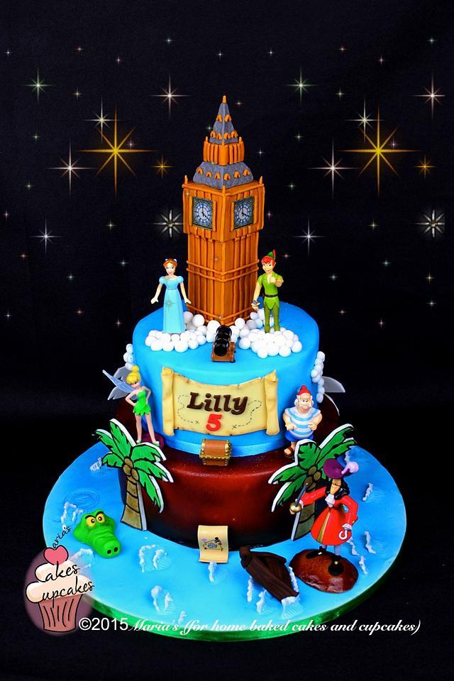 Awe Inspiring Peter Pan Cake By Marias Cakesdecor Personalised Birthday Cards Paralily Jamesorg
