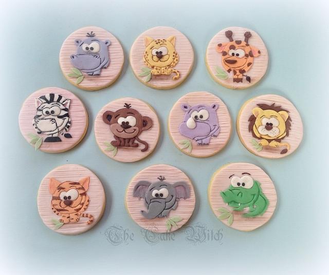 Wild Animals Cookies