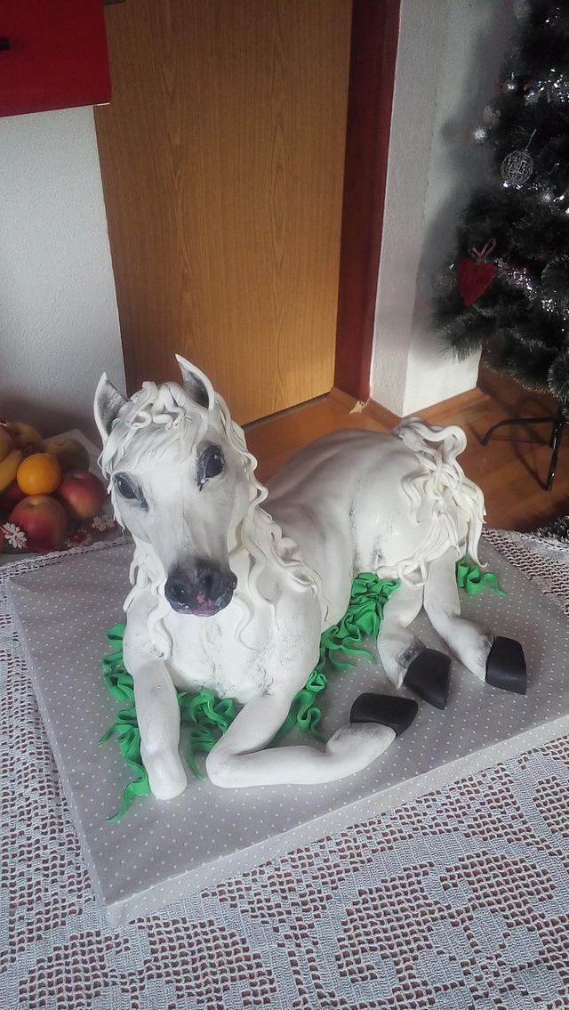 3D Horse Cake