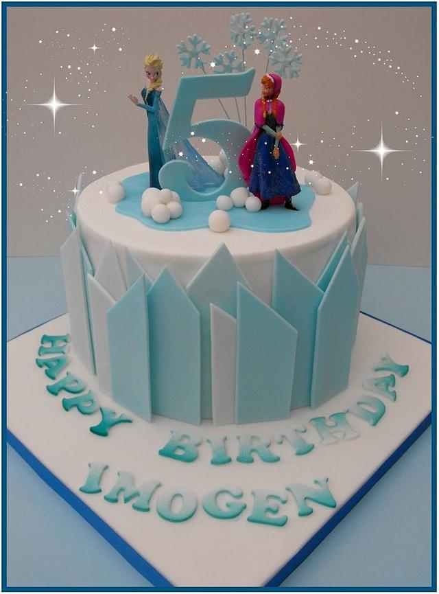 Another Frozen Cake.....